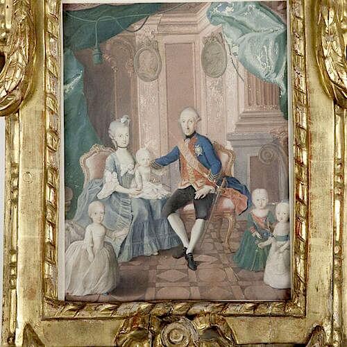 Dessins et aquarelles de Marie-Christine de Habsbourg Lorraine, soeur de Marie-Antoinette Marie108