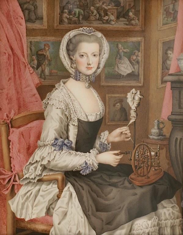 Dessins et aquarelles de Marie-Christine de Habsbourg Lorraine, soeur de Marie-Antoinette Marie109