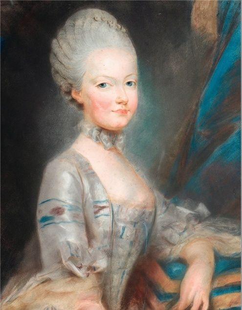 Premiers portraits de Marie-Antoinette par J. Ducreux (et d'après) - Page 2 Marie117