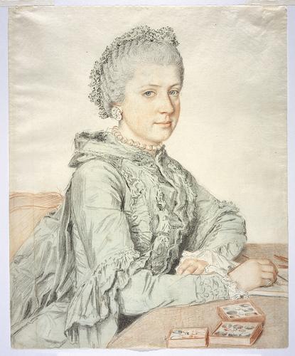Liotard - Portraits de la famille impériale par Jean-Etienne Liotard Marie137