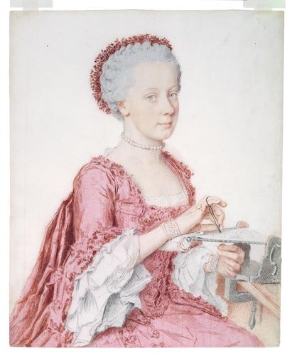 Liotard - Portraits de la famille impériale par Jean-Etienne Liotard Marie138