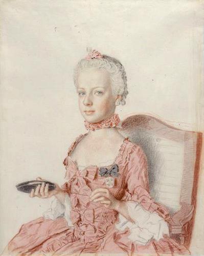 Liotard - Portraits de la famille impériale par Jean-Etienne Liotard Marie141