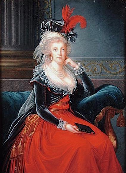 Portraits de Marie Caroline d'Autriche, reine de Naples et de Sicile Marie_20