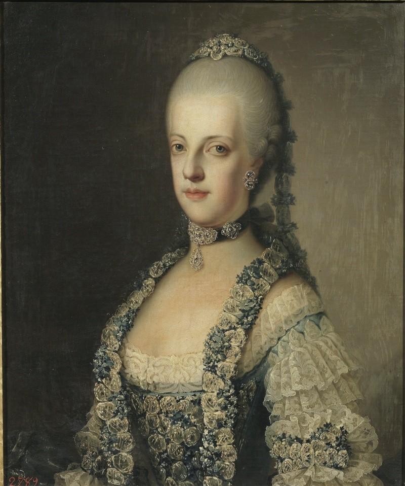 Portraits de Marie Caroline d'Autriche, reine de Naples et de Sicile Marie_22