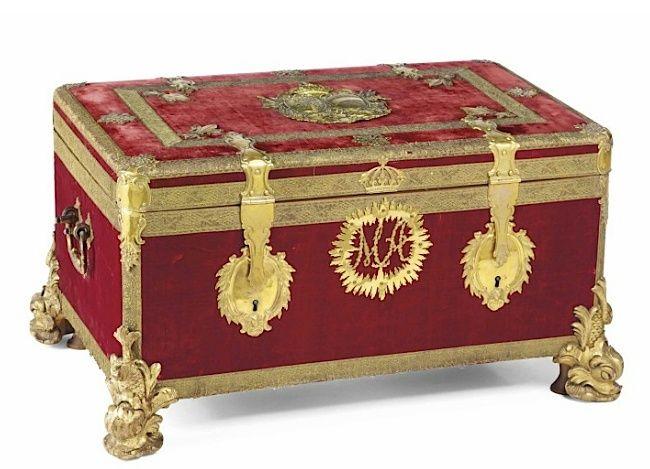 Malles et coffres de voyage de Marie-Antoinette Marie_42