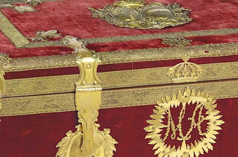 Malles et coffres de voyage de Marie-Antoinette Marie_43