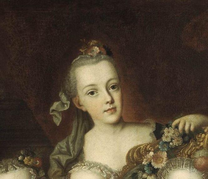 Portraits de la famille impériale autrichienne par Alexey Petrovich Antropov et Johann Hain Marie_60
