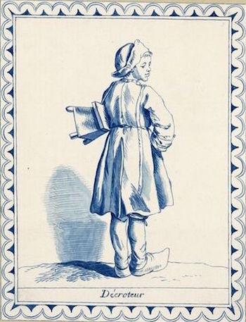 Dessins et aquarelles de Marie-Christine de Habsbourg Lorraine, soeur de Marie-Antoinette Marie_84