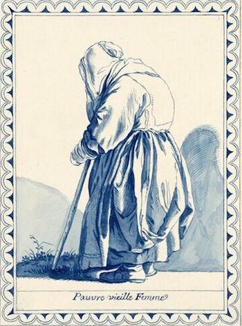Dessins et aquarelles de Marie-Christine de Habsbourg Lorraine, soeur de Marie-Antoinette Marie_86