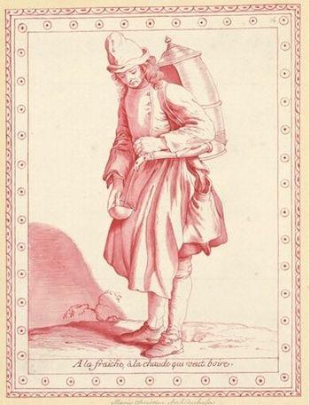 Dessins et aquarelles de Marie-Christine de Habsbourg Lorraine, soeur de Marie-Antoinette Marie_90