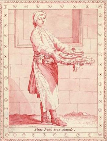 Dessins et aquarelles de Marie-Christine de Habsbourg Lorraine, soeur de Marie-Antoinette Marie_91