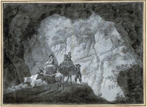 Dessins et aquarelles de Marie-Christine de Habsbourg Lorraine, soeur de Marie-Antoinette Marie_93