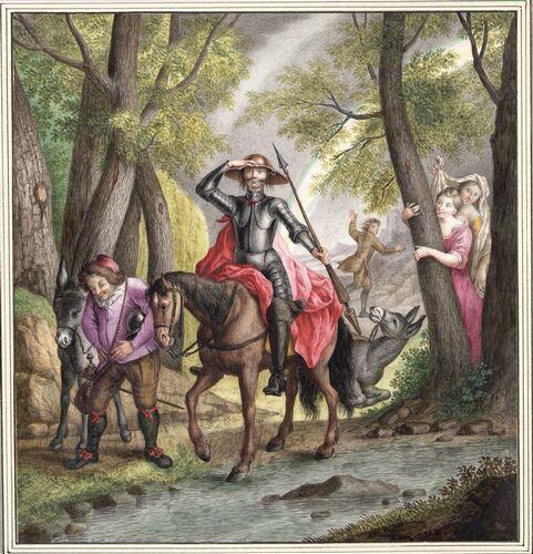 Dessins et aquarelles de Marie-Christine de Habsbourg Lorraine, soeur de Marie-Antoinette Marie_96