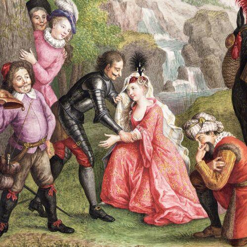 Dessins et aquarelles de Marie-Christine de Habsbourg Lorraine, soeur de Marie-Antoinette Marie_97