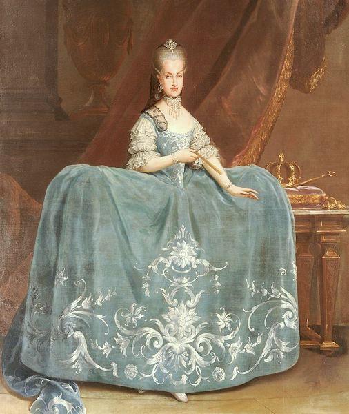 Portraits de Marie Caroline d'Autriche, reine de Naples et de Sicile Martin10