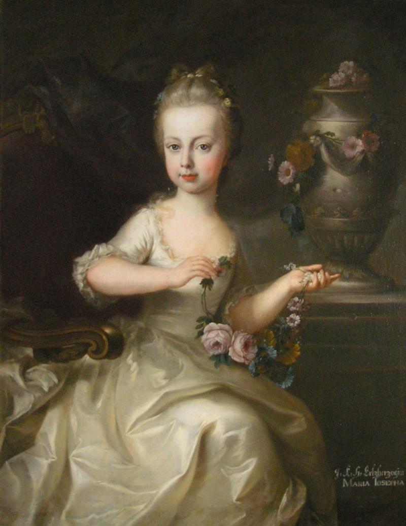 Portraits de l'archiduchesse Marie-Josèphe Martin12