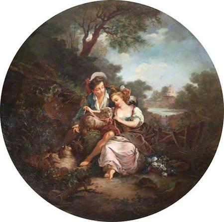 Dessins et aquarelles de Marie-Christine de Habsbourg Lorraine, soeur de Marie-Antoinette Ntiii_10