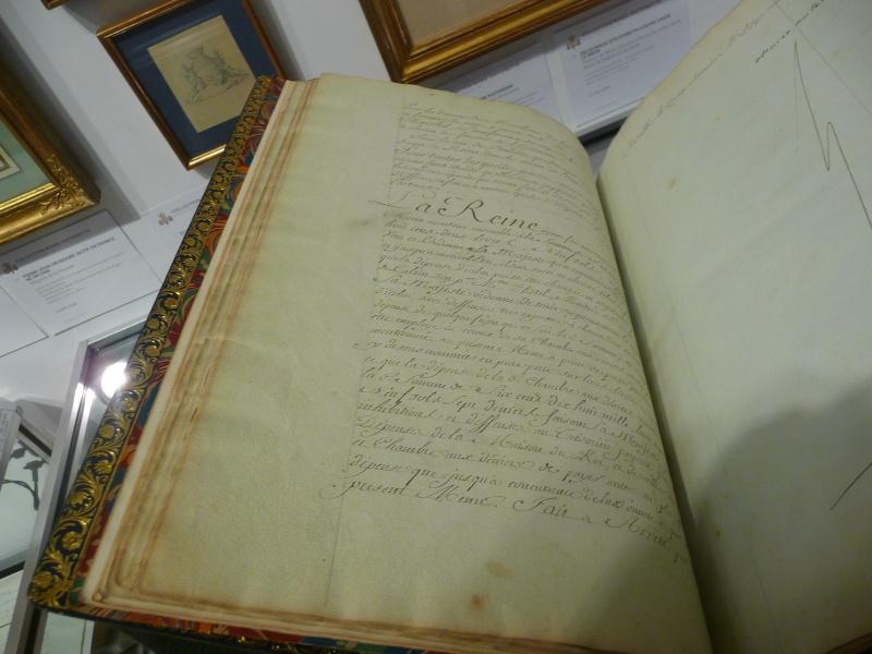 Menu général pour la Maison de la reine, 1781 P1180314