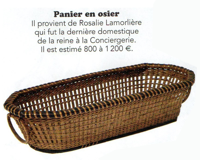 Vente Christie's, Collection Marie-Antoinette Panier10