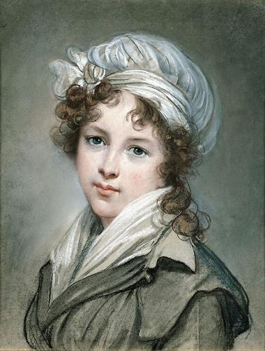 Les autoportraits de Mme Vigée Le Brun Pastel11