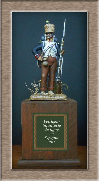 Voltigeur infanterie de ligne Espagne 1811 74_20410