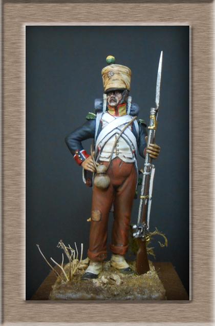 Voltigeur infanterie de ligne Espagne 1811 74_20510