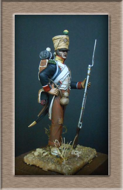 Voltigeur infanterie de ligne Espagne 1811 74_20511