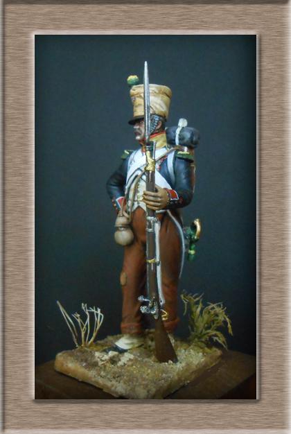 Voltigeur infanterie de ligne Espagne 1811 74_20610