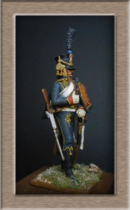 Grenadier 15e régiment Infanterie de la ligne Espagne 1807 MM 54m (modifications)  Dscn2612