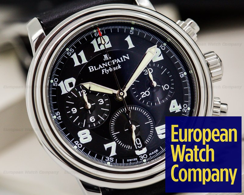 Ma nouvelle : Blancpain Chrono Leman Flyback Blancp10