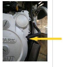 F650 GS mono: changement du capteur d'allumage Trop_p10