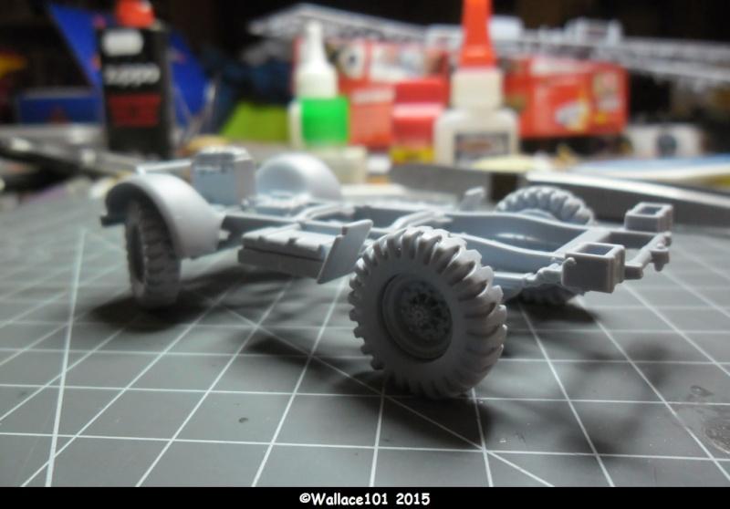 "Bedford MWD 1/48 Airfix /accesoires ""Red Zebra"" Sam_0536"
