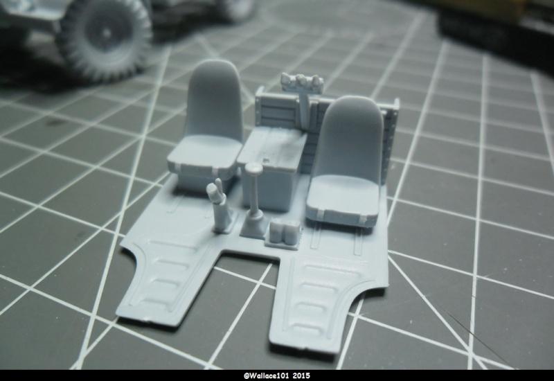 "Bedford MWD 1/48 Airfix /accesoires ""Red Zebra"" Sam_0542"