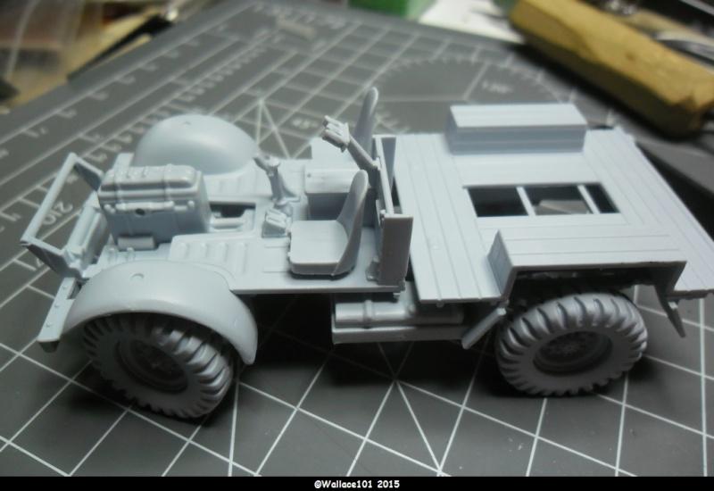 "Bedford MWD 1/48 Airfix /accesoires ""Red Zebra"" Sam_0543"