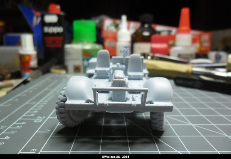 "Bedford MWD 1/48 Airfix /accesoires ""Red Zebra"" Sam_0544"