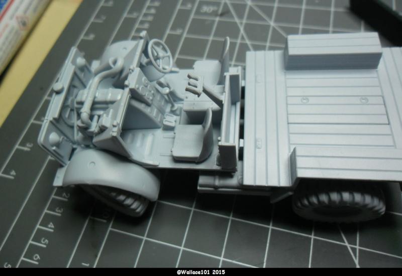 "Bedford MWD 1/48 Airfix /accesoires ""Red Zebra"" Sam_0547"