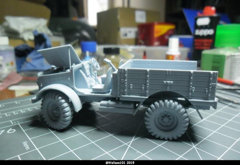 "Bedford MWD 1/48 Airfix /accesoires ""Red Zebra"" Sam_0549"
