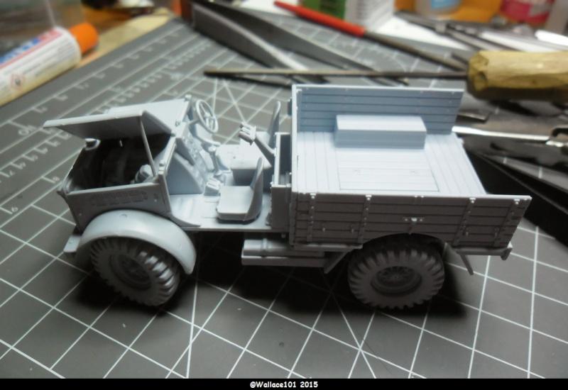 "Bedford MWD 1/48 Airfix /accesoires ""Red Zebra"" Sam_0551"