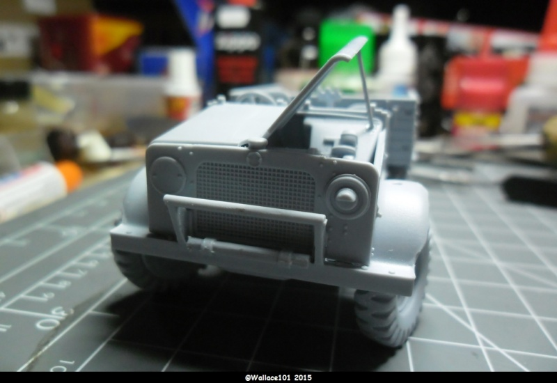 "Bedford MWD 1/48 Airfix /accesoires ""Red Zebra"" Sam_0552"