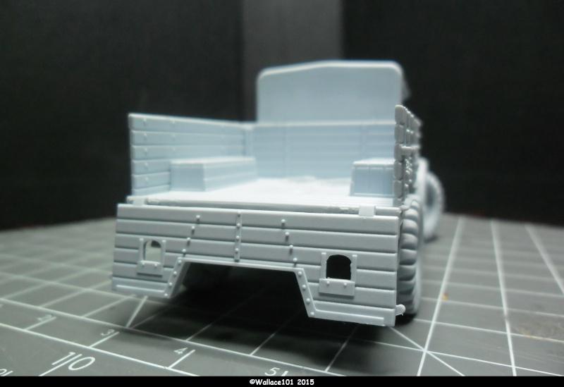 "Bedford MWD 1/48 Airfix /accesoires ""Red Zebra"" Sam_0556"