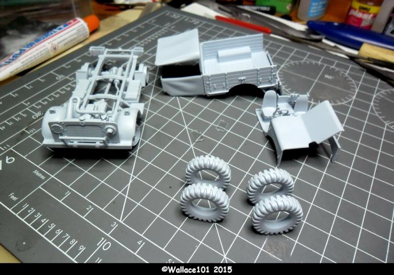 "Bedford MWD 1/48 Airfix /accesoires ""Red Zebra"" Sam_0559"