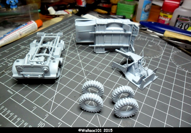 "Bedford MWD 1/48 Airfix /accesoires ""Red Zebra"" Sam_0560"