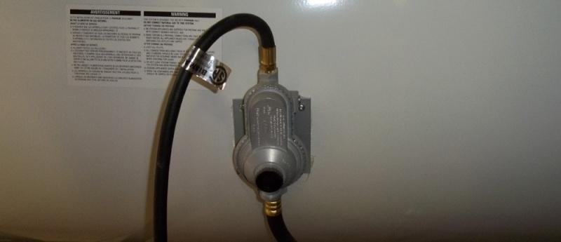 Le régulateur de gaz propane Regula10