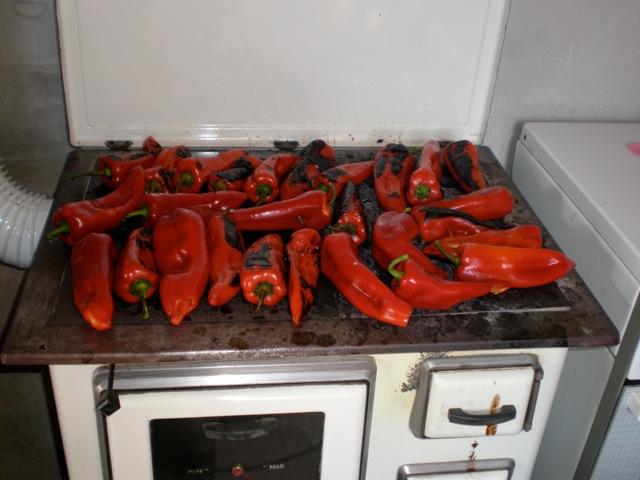 Spremanje domaće zimnice  P9060010