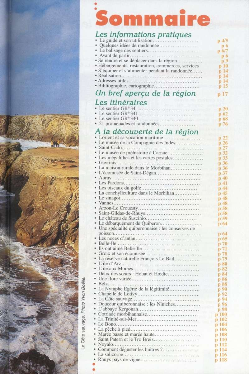 Le littoral et les îles du Morbihan  Ffpr_l11