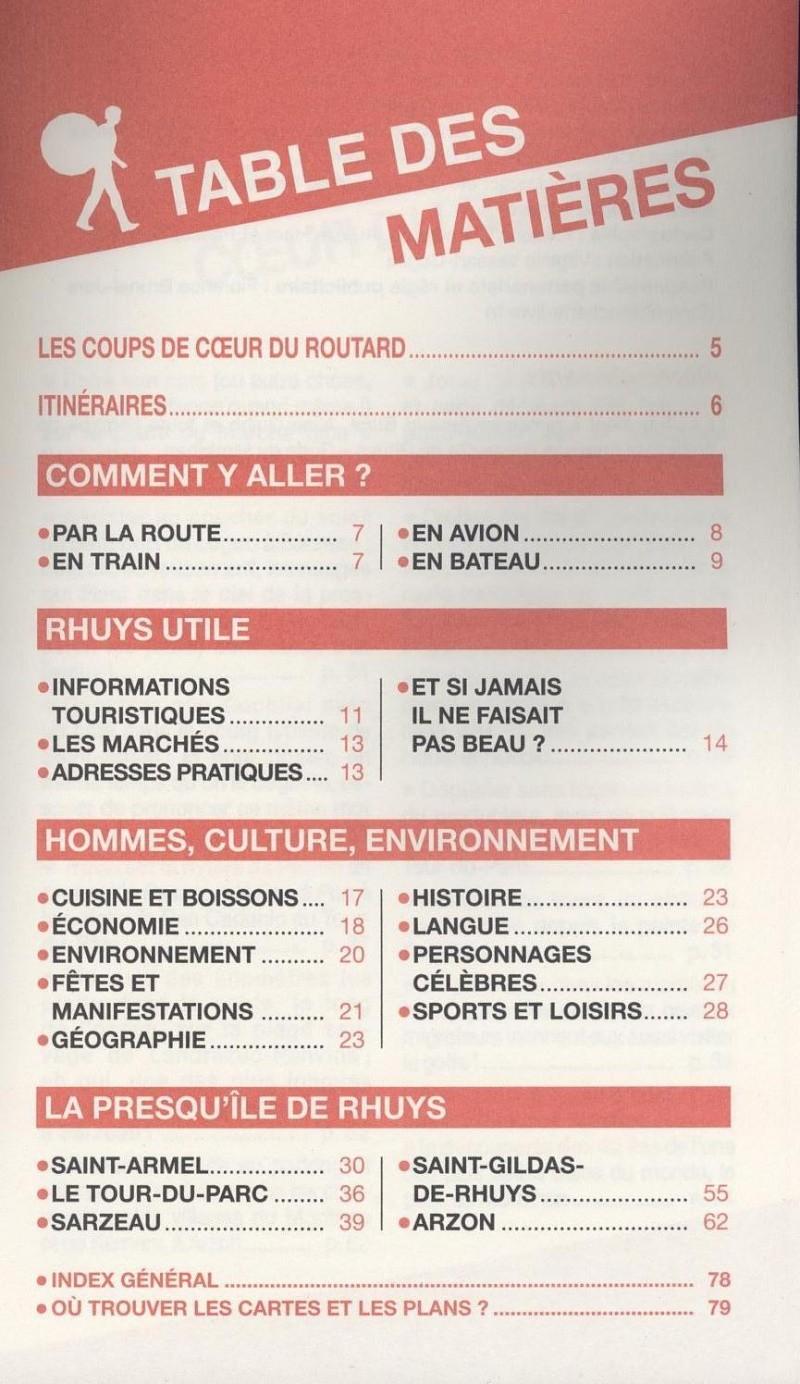 Guide du Routard, Presqu'île de Rhuys, 2014/2015  Routar11