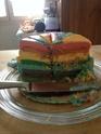 Gâteau Arc-en-ciel pour les 4 ans de mes jujus !!  Img_5310