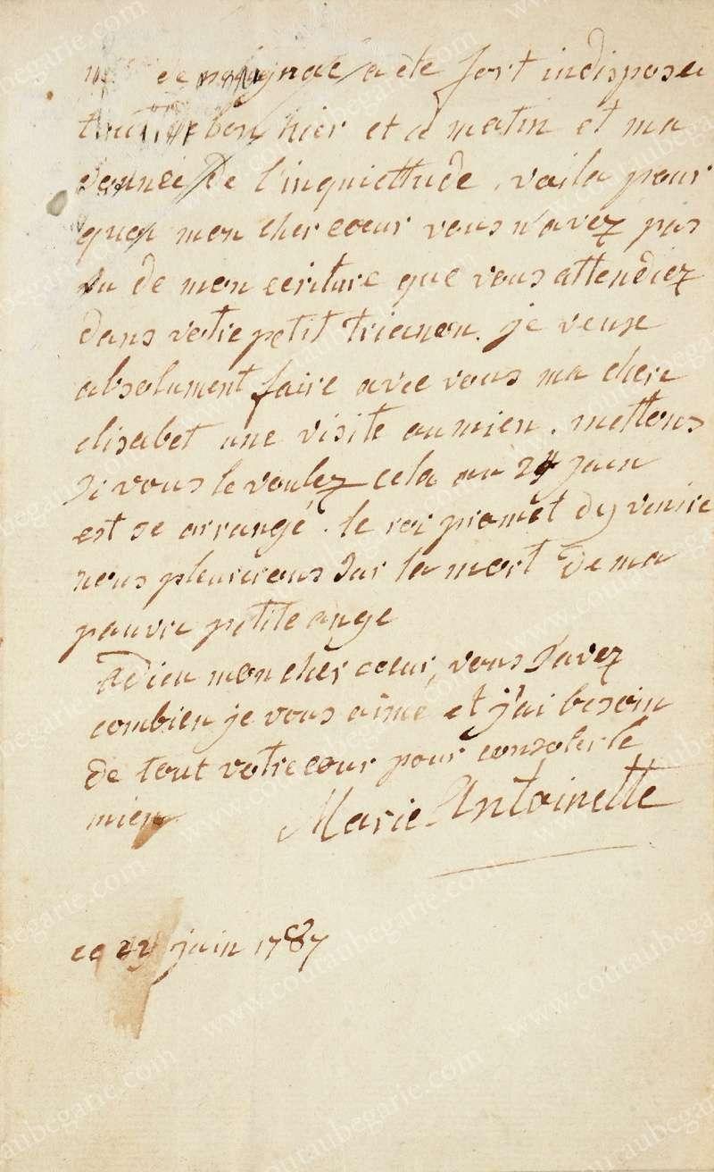 Vente de Souvenirs Historiques - aux enchères plusieurs reliques de la Reine Marie-Antoinette - Page 2 14468211
