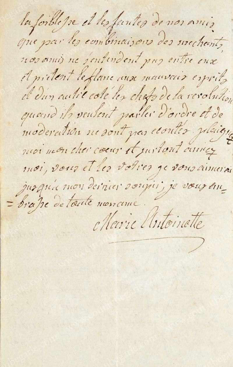Vente de Souvenirs Historiques - aux enchères plusieurs reliques de la Reine Marie-Antoinette - Page 3 14468213