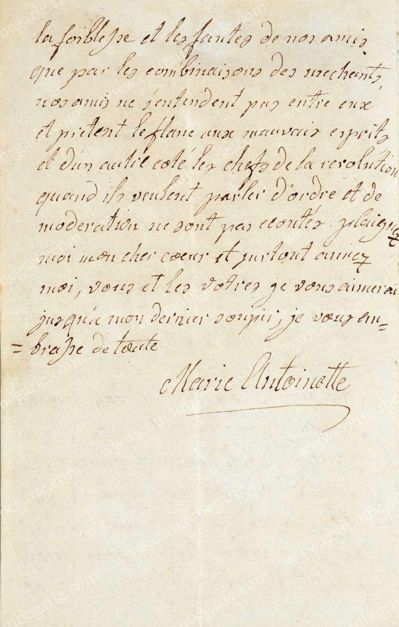 Vente de Souvenirs Historiques - aux enchères plusieurs reliques de la Reine Marie-Antoinette - Page 3 14468214
